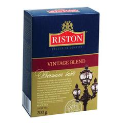 """Чай RISTON (Ристон) """"Vintage Blend"""", черный листовой, картонная коробка, 200 г"""