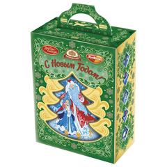 """Подарок новогодний """"Чудесное мгновение"""", 403 г, набор конфет и пр., картонная коробка"""