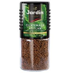 """Кофе растворимый JARDIN (Жардин) """"Guatemala Atitlan"""", сублимированный, 95 г, стеклянная банка"""