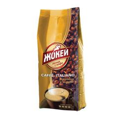 """Кофе в зернах ЖОКЕЙ """"Caffe Italiano"""", натуральный, 500 г, вакуумная упаковка"""