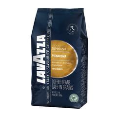 """Кофе в зернах LAVAZZA (Лавацца) """"Pienaroma"""", натуральный, 1000 г, вакуумная упаковка"""