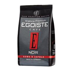 """Кофе в зернах EGOISTE """"Noir"""", натуральный, 500 г, 100% арабика, вакуумная упаковка"""