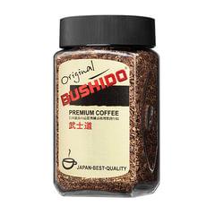 """Кофе растворимый BUSHIDO """"Original"""", сублимированный, 100 г, 100% арабика, стеклянная банка"""