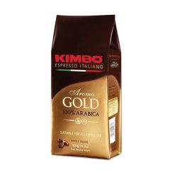"""Кофе в зернах KIMBO """"Aroma Gold Arabica"""" (Кимбо """"Арома Голд Арабика""""), натуральный, 500 г, вакуумная упаковка"""