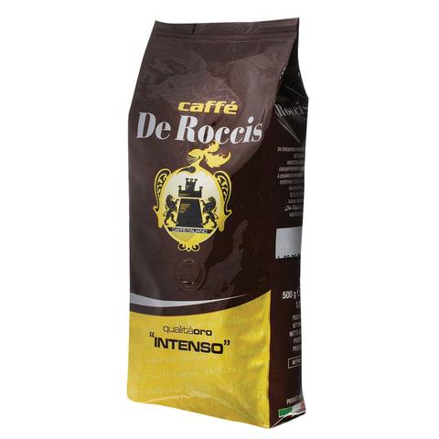 """Кофе в зернах DE ROCCIS """"Oro Intenso"""" (Де Роччис """"Оро Интенсо""""), натуральный, 1000 г, вакуумная упаковка"""
