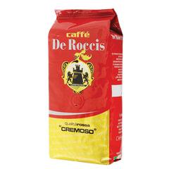 """Кофе в зернах DE ROCCIS """"Rossa Cremoso"""" (Де Роччис """"Росса Кремосо""""), натуральный, 1000 г, вакуумная упковка"""