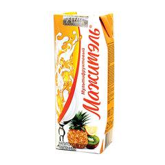 Молочный коктейль МАЖИТЭЛЬ с соком, мультифрукт, жирность 0,05%, картонная упаковка, 250 г
