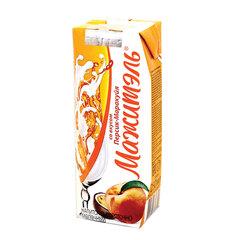 Молочный коктейль МАЖИТЭЛЬ с соком, персик/маракуйя, жирность 0,05%, картонная упаковка, 250 г
