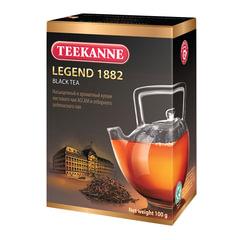 """Чай TEEKANNE (Тикане) """"Legend 1882"""", черный, листовой, картонная упаковка, 100 г, Германия"""