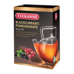 """Чай TEEKANNE (Тикане) """"Blackcurrant-Pomegranate"""", черный, смородина/гранат, листовой, 100 г"""