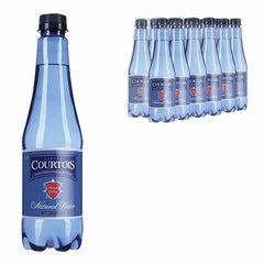Вода газированная питьевая COURTOIS (КУРТУА), 0,5 л, пластиковая бутылка