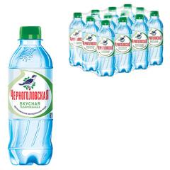 """Вода газированная минеральная """"ЧЕРНОГОЛОВСКАЯ"""", 0,33 л, пластиковая бутылка"""