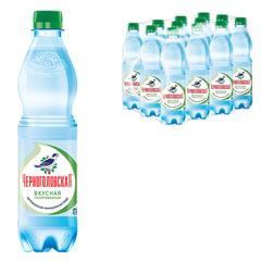 """Вода газированная минеральная """"ЧЕРНОГОЛОВСКАЯ"""", 0,5 л, пластиковая бутылка"""