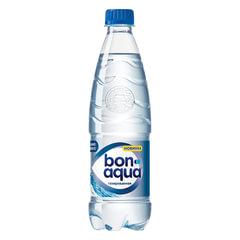Вода газированная питьевая BONAQUA (БонАква), 0,5 л, пластиковая бутылка