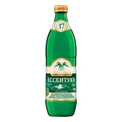 """Вода газированная минеральная ЕССЕНТУКИ """"№17"""", 0,54 л, стеклянная бутылка"""