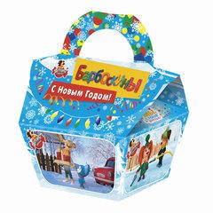 """Подарок новогодний """"Новогодние Барбоскины"""", 405 г, набор конфет и пр., ассорти, картонная коробка"""