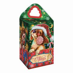 """Подарок новогодний """"Четыре собачки"""", 200 г, набор конфет и пр., ассорти, картонная коробка"""