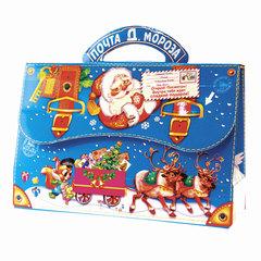 """Подарок новогодний """"Почта Деда Мороза"""", 600 г, набор конфет и пр., ассорти, картонная коробка"""