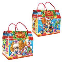 """Подарок новогодний """"Праздник"""", 1000 г, набор конфет и пр., ассорти, картонная коробка"""