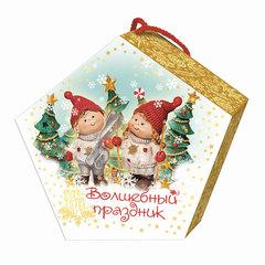 """Подарок новогодний """"Волшебный праздник"""", 500 г, набор конфет и пр., ассорти, картонная коробка"""