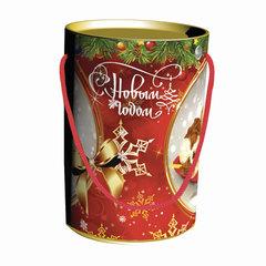 """Подарок новогодний """"Малыши"""", 300 г, набор конфет и пр., ассорти, картонная туба"""