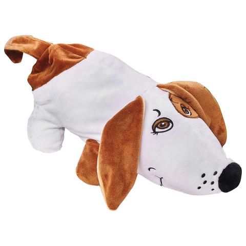 """Подарок новогодний """"Собака Сосиска"""", 400 г, набор конфет ассорти, сумочка, мягкая игрушка"""