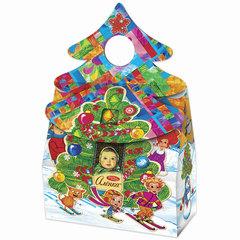 """Подарок новогодний АЛЕНКА """"Новогодний подарок"""", 500 г, набор ассорти, картонная коробка"""