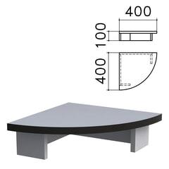 """Подставка под монитор """"Монолит"""", 400х400х100 мм, цвет серый, ПМ03.11"""