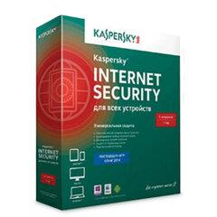 """Антивирус KASPERSKY """"Internet Security"""", лицензия на 5 устройств, 1год, бокс"""