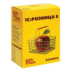"""Программный продукт """"1С:Розница 8"""", базовая версия, бокс DVD"""