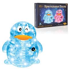 """Игрушка развивающая 3D Crystal Puzzle """"Пингвин"""", светильник, XL, 62 элемента, цвет ассорти"""