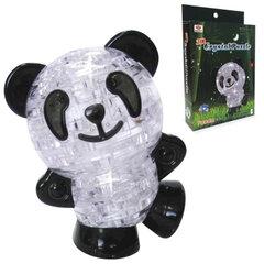 "Игрушка развивающая 3D Crystal Puzzle ""Панда"", светильник, L, 53 элемента"