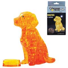 """Игрушка развивающая 3D Crystal Puzzle """"Собака"""", L, 41 элемент"""