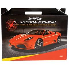 """Набор для первоклассника в подарочной упаковке HATBER """"Автомобили"""", Нп4 05321"""