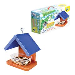 """Набор для детей деревянный """"Кормушка для птиц №2"""", 20х20х14 см, цветной, """"Десятое королевство"""""""