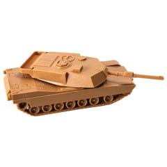 """Модель для сборки ТАНК """"Основной американский M1A1 """"Абрамс"""", масштаб 1:100, ЗВЕЗДА, 7405"""