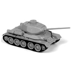 """Модель для сборки ТАНК """"Средний советский Т-34/85"""", масштаб 1:72, ЗВЕЗДА, 5039"""