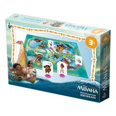 """Игра-ходилка настольная детская """"Моана. Зов океана"""", игровое поле, фишки, кубик, Disney, """"Десятое королевство"""""""