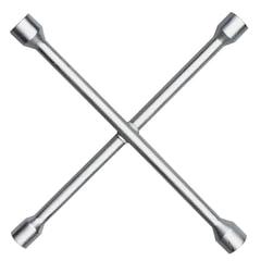 Ключ баллонный, крест, 17х19х21х22 мм, MATRIX PROFESSIONAL, усиленный, толщина 16 мм