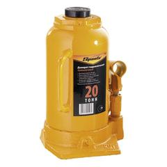 Домкрат гидравлический бутылочный, 20 т, SPARTA, высота подъема 250–470 мм, D штока- 44 мм
