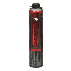 Пена монтажная REDSUN, профессиональная (пистолетная), 70 литров, объем 850 мл
