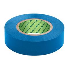 Изолента ПВХ, 15 мм х 10 м, СИБРТЕХ, 130 мкм, цвет-синий