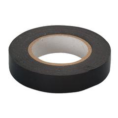 Изолента ПВХ, 15 мм х 10 м, СИБРТЕХ, 130 мкм, цвет-черный