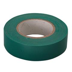 Изолента ПВХ, 15 мм х 10 м, СИБРТЕХ, 130 мкм, цвет-зеленый