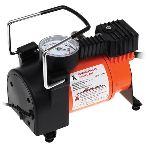 """Автомобильный компрессор """"X"""", производительность 30 л/мин, давление до 7 АТМ, AIRLINE, CA-030-18S"""