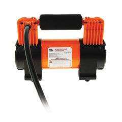 """Автомобильный компрессор """"X6"""", двухпоршневой, 70 л/мин, до 10 АТМ, работа от АКБ, AIRLINE, CA-070-17S"""
