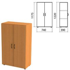 "Шкаф закрытый ""Фея"", 740х390х1220 мм, цвет орех милан (КОМПЛЕКТ)"