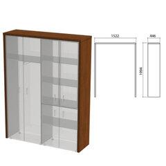 """Декоративное обрамление шкафов """"Приоритет"""", 1522х446х1994 мм, ноче милано (КОМПЛЕКТ)"""