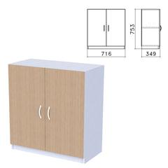 """Шкаф закрытый """"Бюджет"""", 716х349х753 мм, орех онтарио (КОМПЛЕКТ)"""