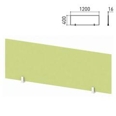 "Экран-перегородка ""Профит"", 1200х16х400 мм, зеленый (КОМПЛЕКТ)"